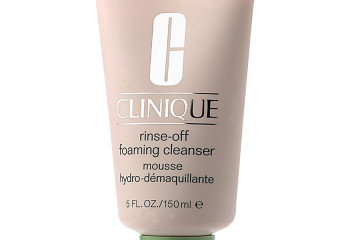 Clinique: Rinse-Off Foaming Cleanser ($20.00)