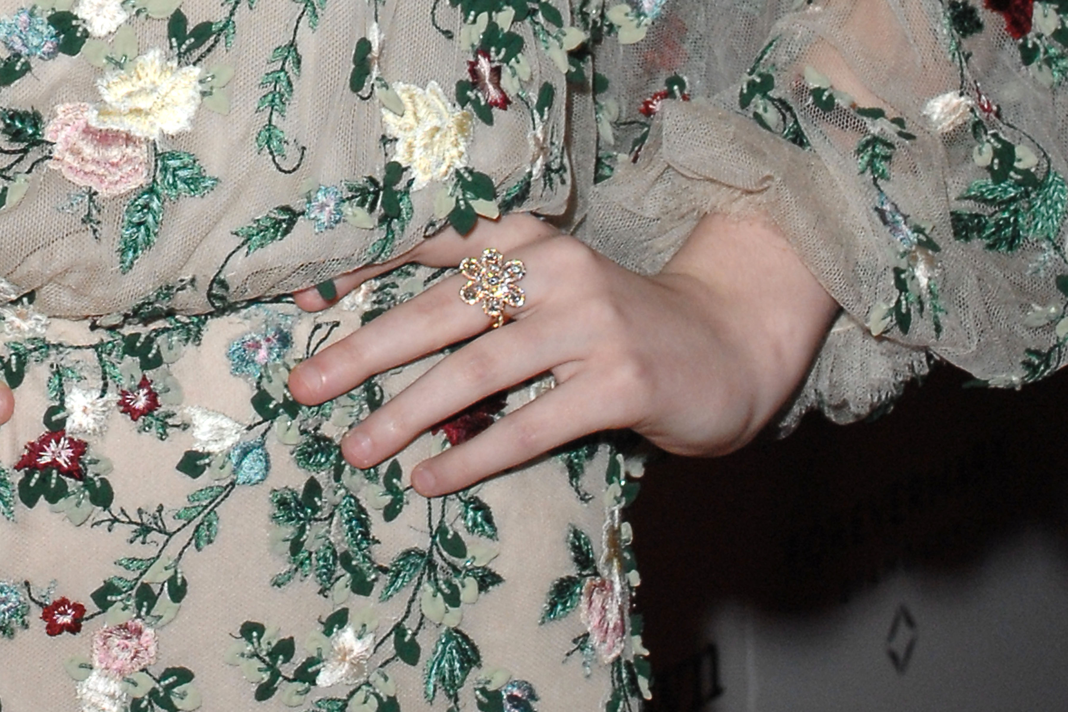 Elle Fanning in Forevermark Diamonds at Low Down Premiere2 Close up.JPG
