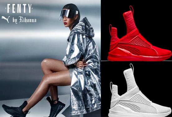 size 40 04644 17a9f Rihanna Gives Futuristic Glam In New Fenty x PUMA Promo Pics