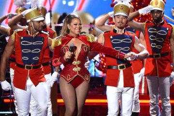 Mandatory Credit: Photo by Stephen Lovekin/Variety/REX/Shutterstock (7542099c) Mariah Carey VH1 Divas Holiday Unsilent Night, Show, New York, USA - 02 Dec 2016