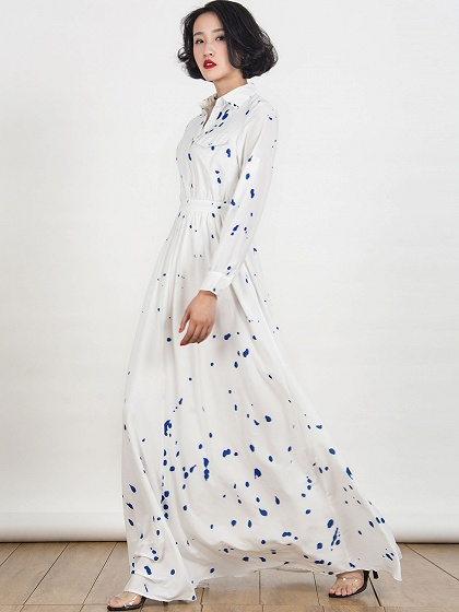 white-collar-splash-print-maxi